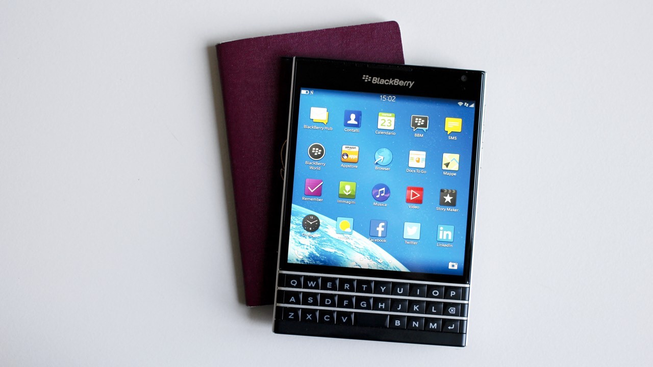 Blackberry lebt